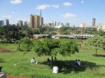 View of downtown and Uhuru Park